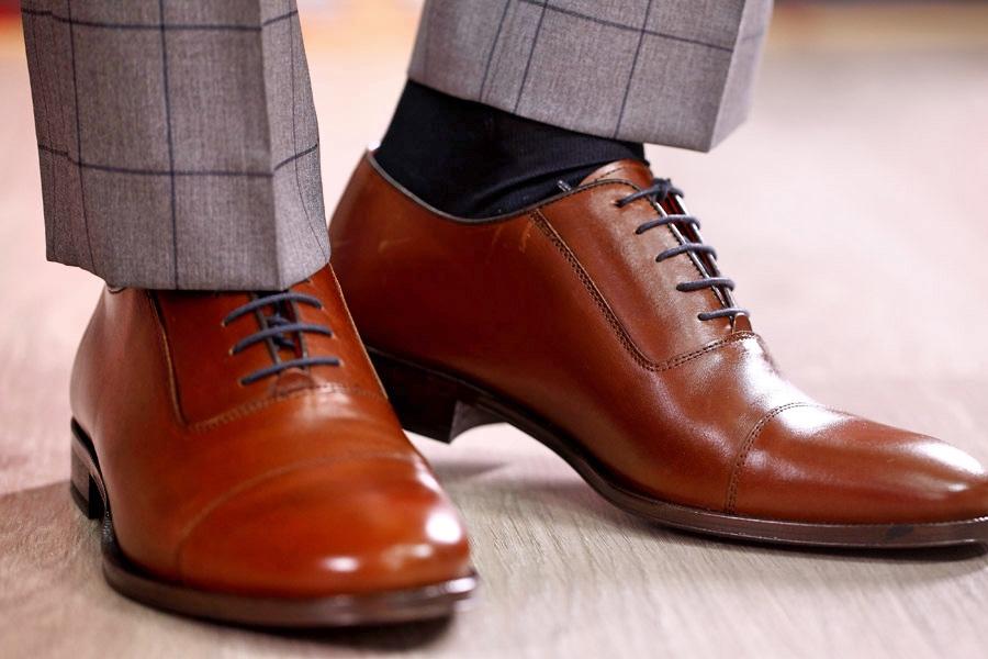Zapatos marron Lebrel 2018.